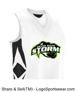 Grand River Storm Jersey 2014 Design Zoom